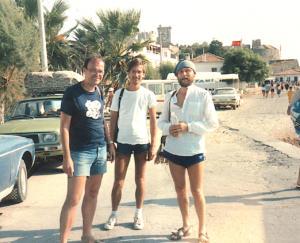Atilla Engin tour Tyrkiet ca 1985