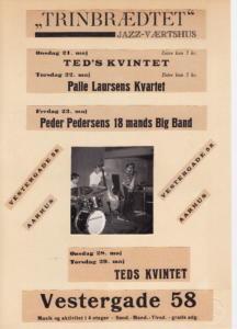 V58 Teds Kvartet. Carsten Brinck- Jens Jefsen - Allan Andersen - Teddy Andersen
